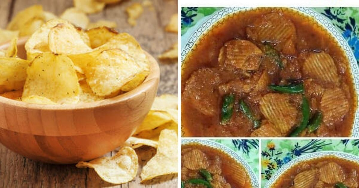 potato chips curry
