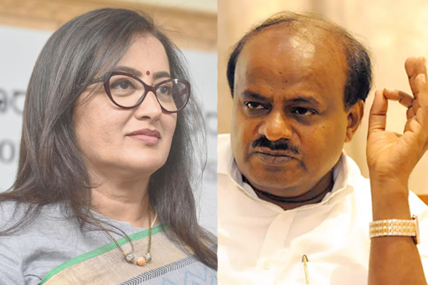 HDK Vrs Sumalatha unending fued KRS Dam in the middle